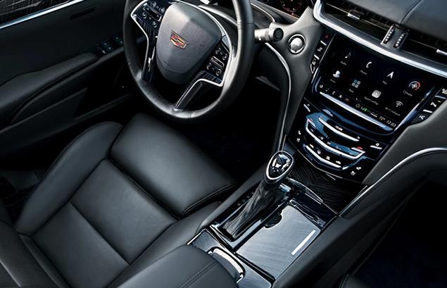 Cadillac XTS Interior Black Aerial