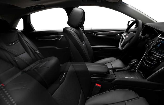 Cadillac XTS Interior Black Side